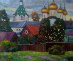 Бердышев Игорь. дворик в Костроме