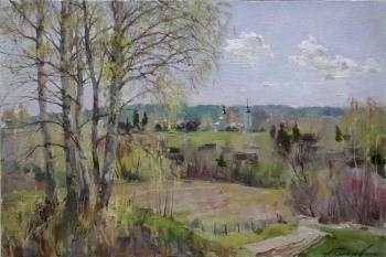 Galimov Azat. The light above Yazhelbitsy. Spring. Valday