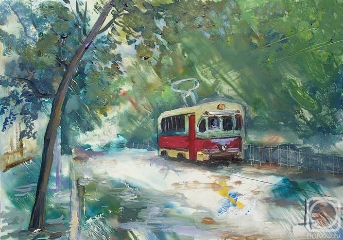 Острая Елена. Казанский трамвай