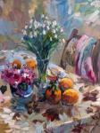 Торосян Сасун. Натюрморт с цветами
