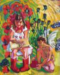 "Картина ""Красный галстук и сапоги"". Овчинникова Александра"