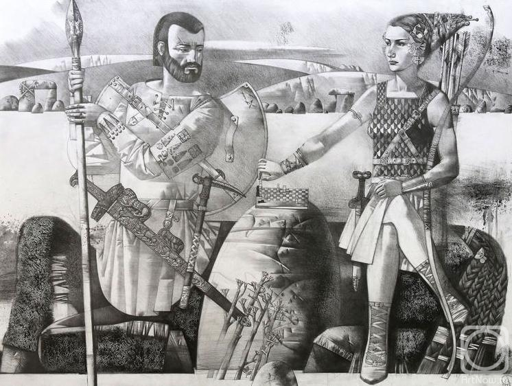 Симаков Андрей. Поединок кентавра и амазонки