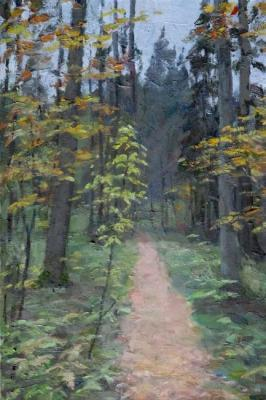 Rubinsky Pavel. forest path