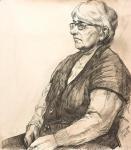 Корхов Юрий. Портрет пожилой женщины