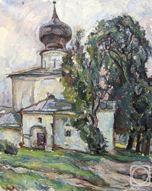 Строганов Леонид. Псков. Церковь