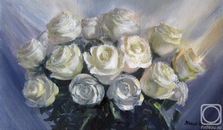 Краснова Нина. Белые розы