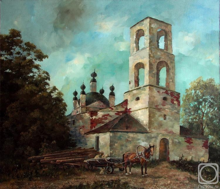 Zerrt Vadim. The old Church