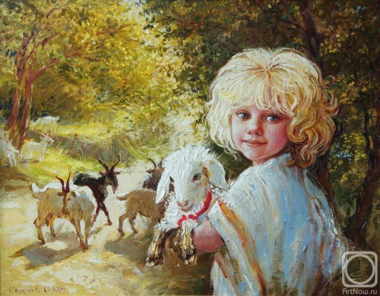 Симонова Ольга. Пастушок