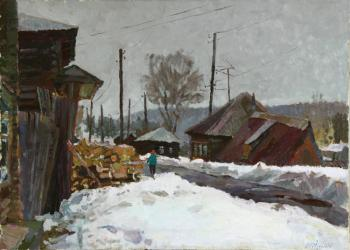 Zhukova Juliya. Vanishing winter