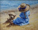 Simonova Olga. Оn the beach