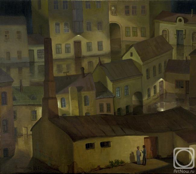Парошин Владимир. Ночь в старом городе