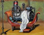 Tzarevsky Yury. Portrait of a steam engine