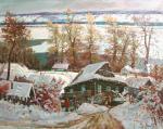 Мишагин Андрей. Зима на волжских берегах