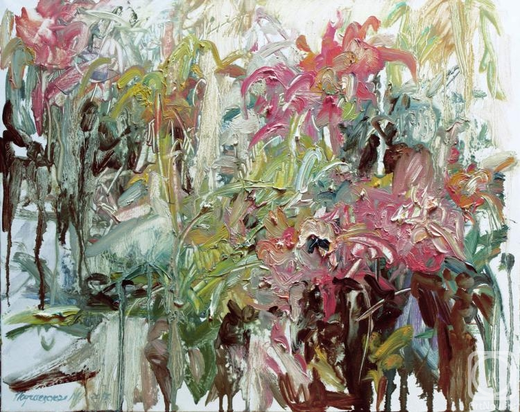Подгаевская Марина. Орхидеи в саду