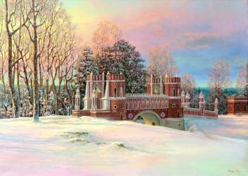 Panin Sergey. In the winter evening in Tsaritsino