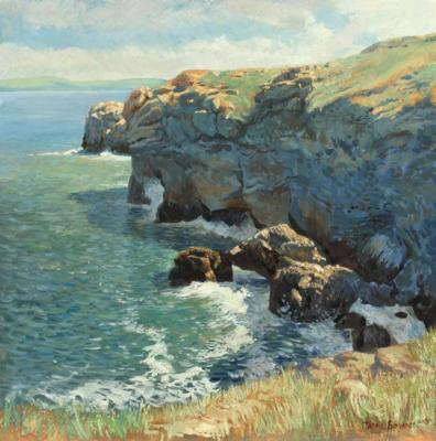 Crimea. The rocks at Kazantip. Bocharov Taras
