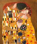 Поцелуй. копия Г.Климта. Минаев Сергей