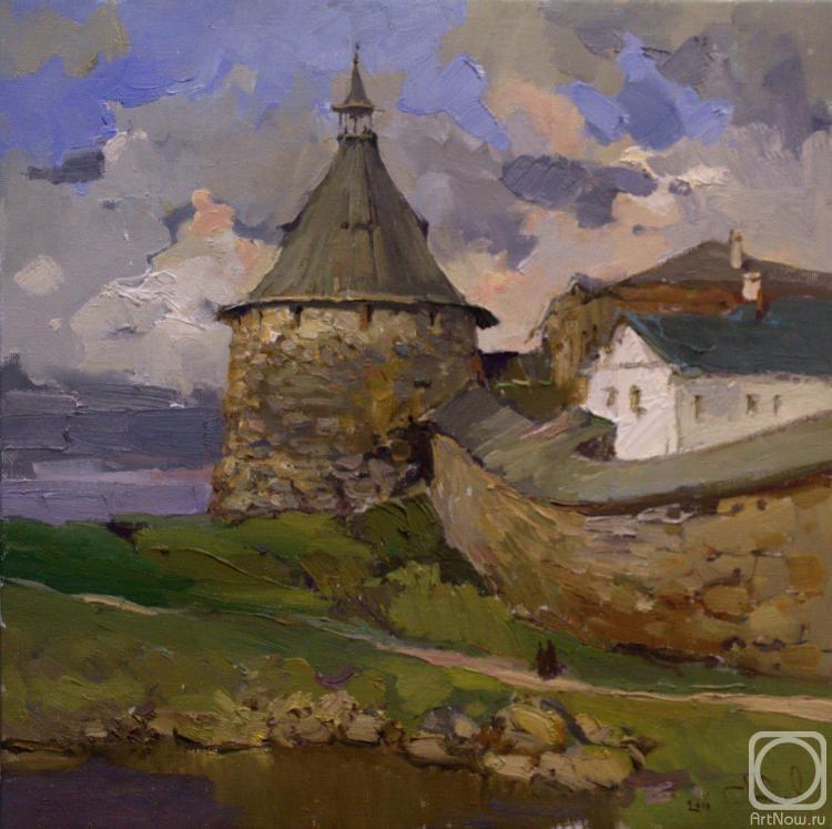 Любимов Сергей. Корожная башня Соловецкого монастыря