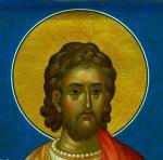 Святой мученик Евгений. Лик. Кутковой Виктор