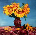 Aronov Aleksey. Sunflowers