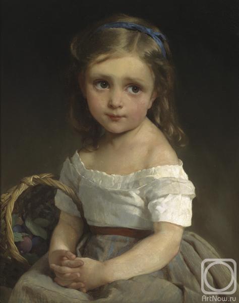 Жуков Фёдор. Детский портрет