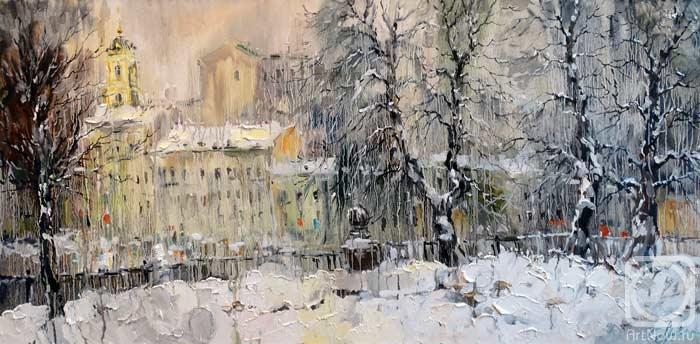 Чарина Анна. Снегопад. Цветной бульвар