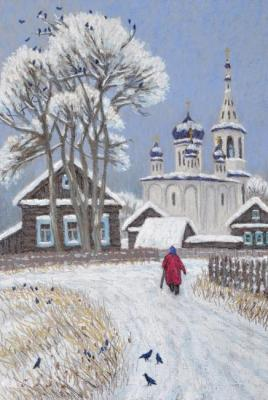 Zuev Aleksey. Farewell to winter