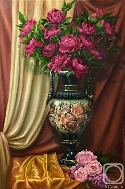 Kogay Zhanna. Luxurious still life