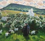 Father Gabriel in the vicinity of the monastery of the Holy Apostle and Evangelist Luke. Shevchuk Vasiliy