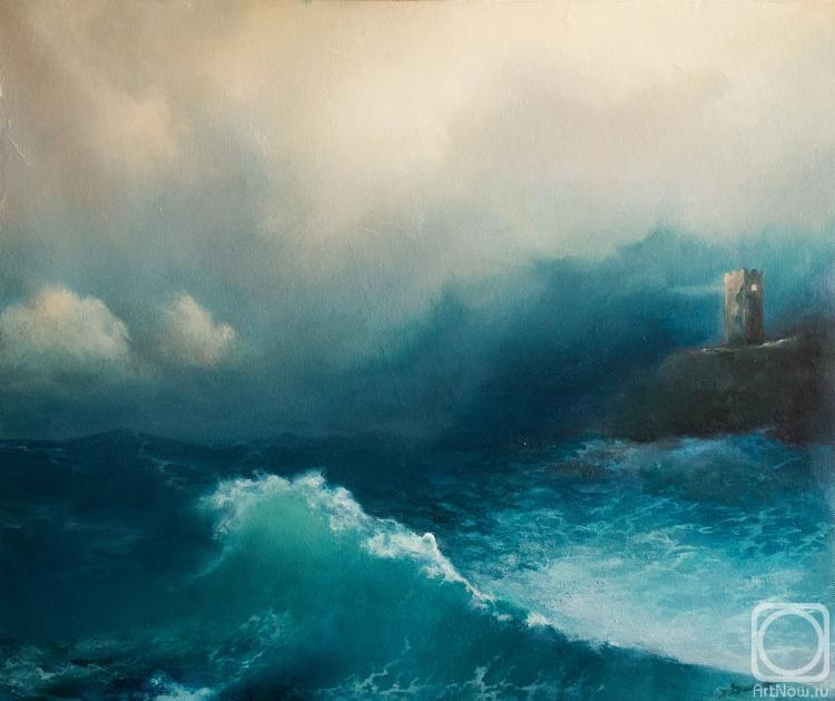 Ким Владимир. Сторожевая башня у Чёрного моря
