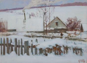 Panov Igor. Old fence
