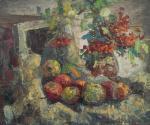 Кошелев Роман. Натюрморт с яблоками