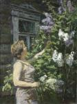 Rubinsky Igor. A bouquet of lilacs