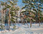 Панасюк Наталья. Зимний лес 3