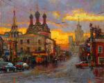 Волков Сергей. Таганка под дождём