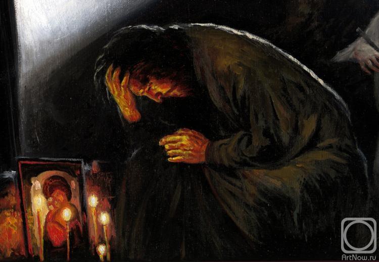 Молитва на картинах художников