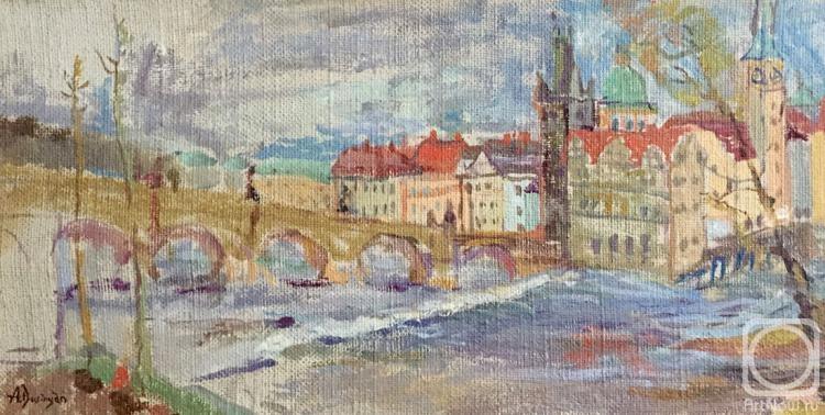 Дуринян Ашот. Карлов мост. Прага