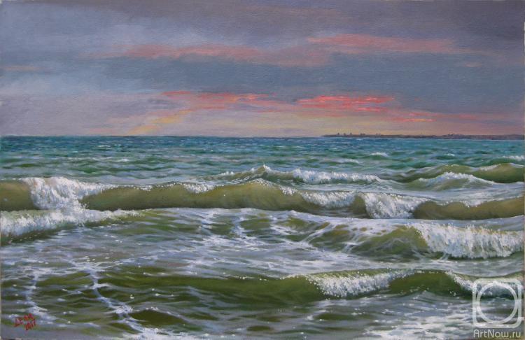 Дели Виталий. Черное море с видом на Одессу.