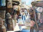 Восточный базар. Птичий рынок