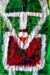 Щупак Виктор. Автопортрет в красной рубахе