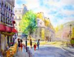 Михальская Екатерина. Солнечный Париж