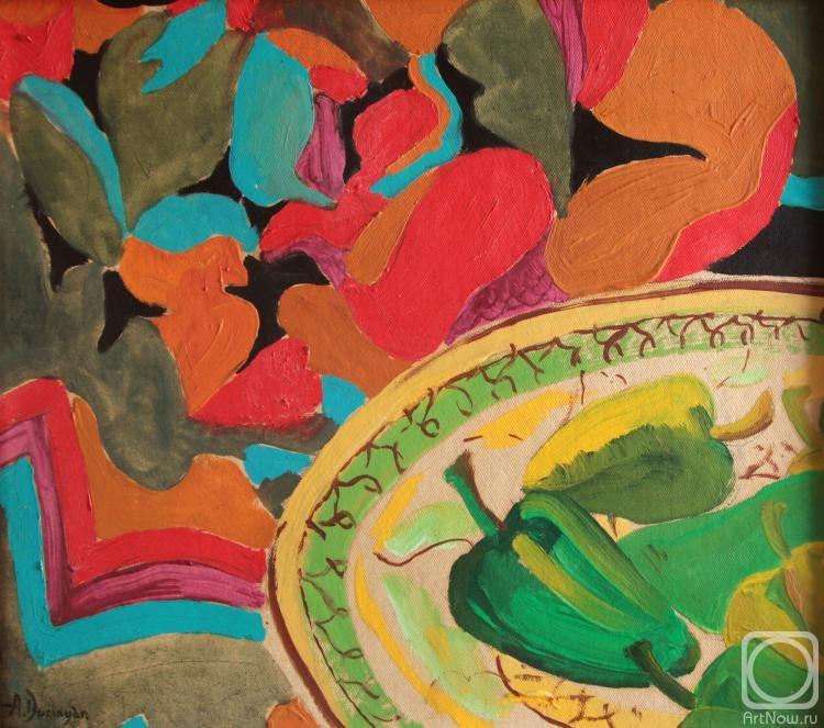 Дуринян Ашот. Натюрморт с перцами