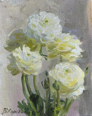 White flowers. Kharchenko Victoria