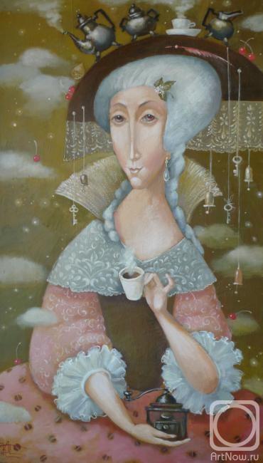 Панина Кира. Кофейная дама