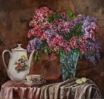 Pelesh Alexandr. Coffee with aroma of a lilac