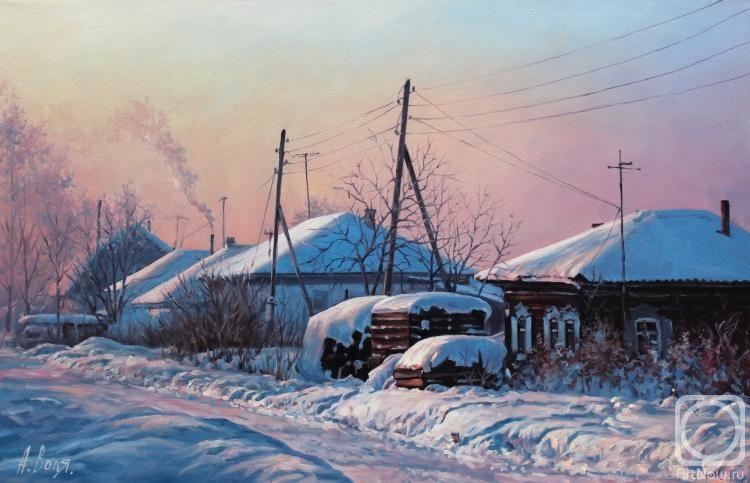 Воля Александр. Холодное утро