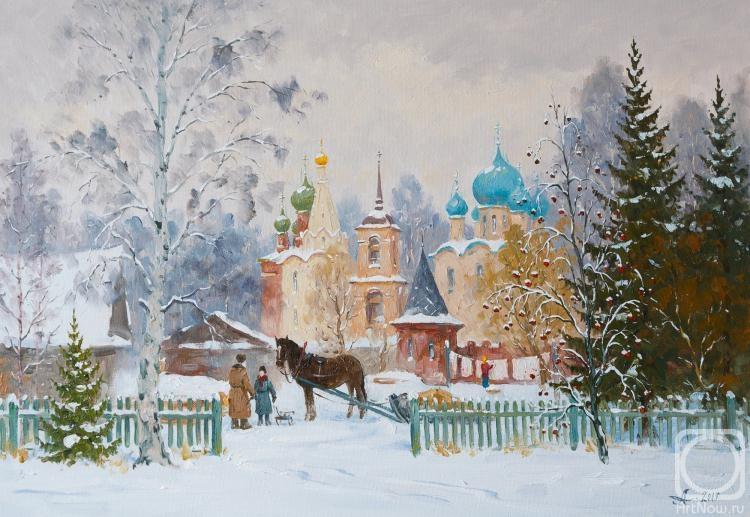 Александровский Александр. Переславль. Зима
