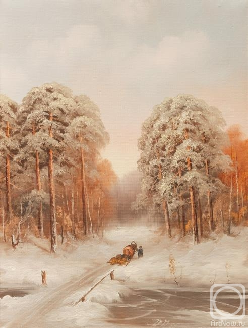 Лямин Николай. Зимняя дорога