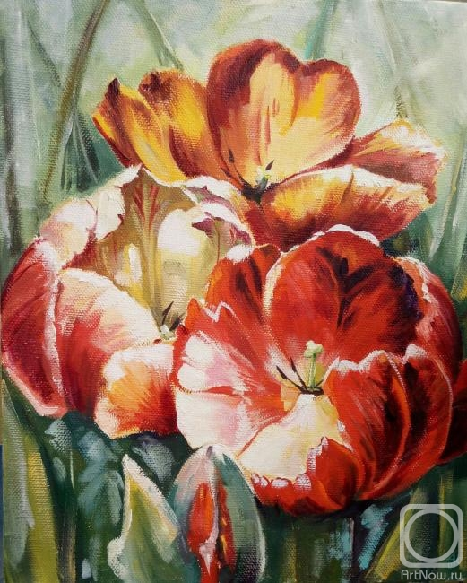 Кукарина Алина. Тюльпаны