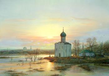 Panin Sergey. Easter morning